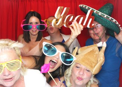 Wedding Fun in Photobooth