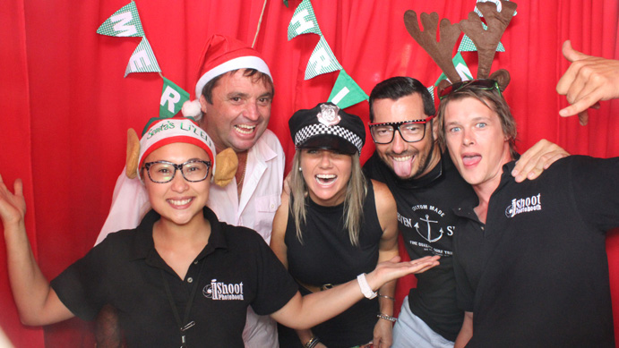 Christmas party at Noosa North Shore Retreat