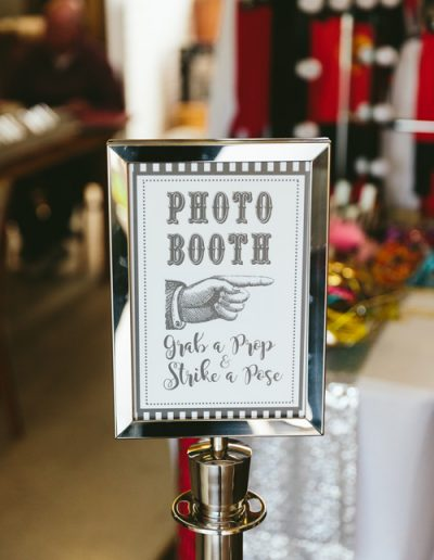 Photo Booth Stanchions