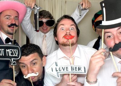 Men in the Photo Booth