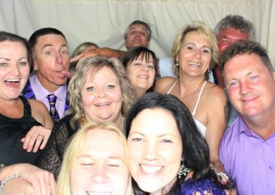 Group Photo in Photo Booth in Caloundra