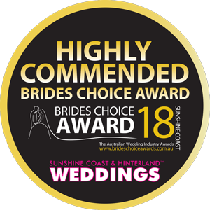 HIGHLY COMMENDED Brides Choice Award