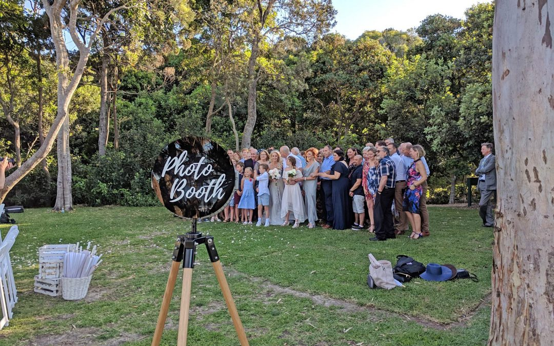 Photo Booth at the Ceremony and Reception