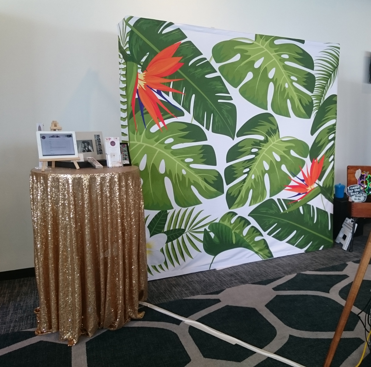 Our Photo Booth Backdrop Collection - iShoot Photobooth