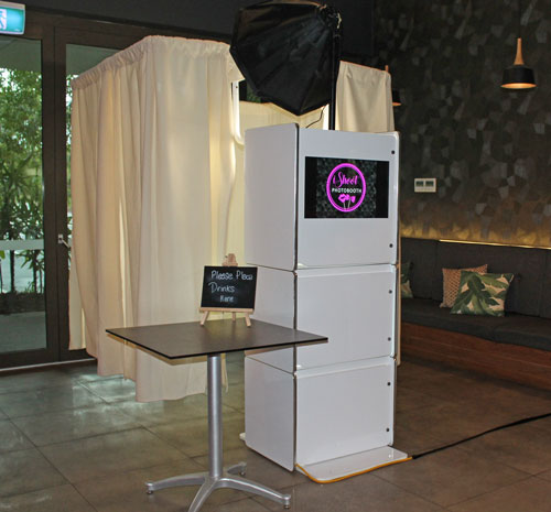 Enclosed Photo Booth Hire Sunshine Coast