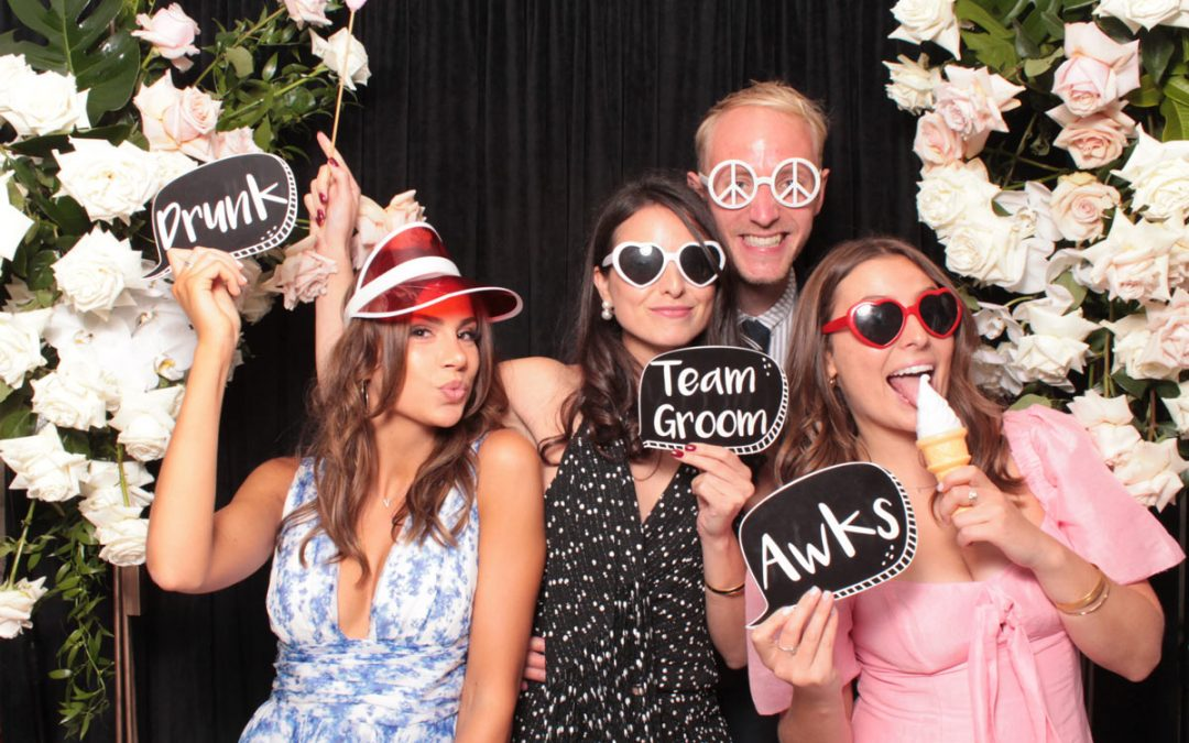 Our Photo Booth at Bistro C Noosa