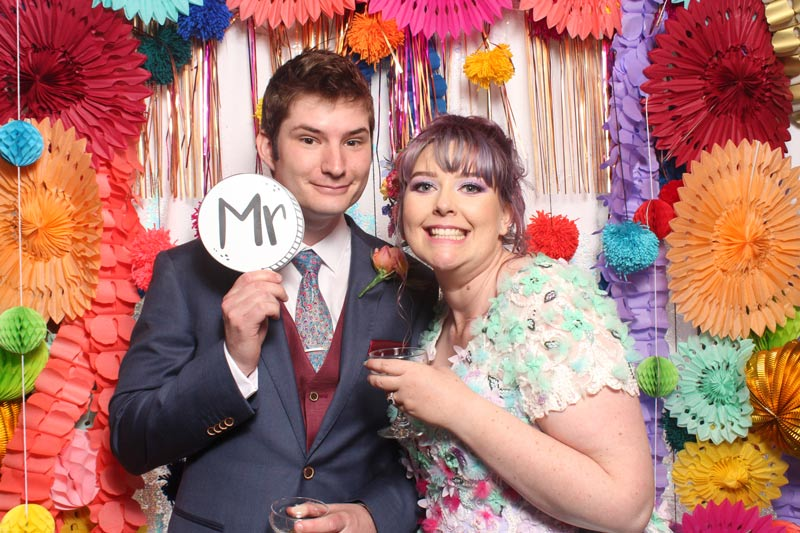 Matt and Liana's Colourful Wedding