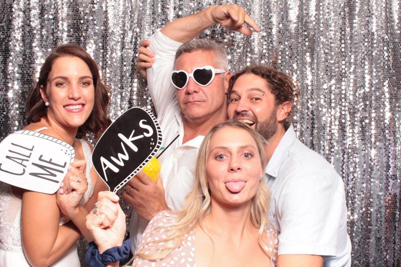 Photo Booth at Real wedding at Drift Bar Caloundra