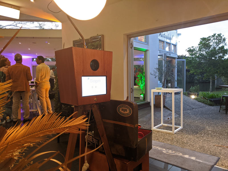 Noosa Waterfront Restaurant Photo Booth Setup