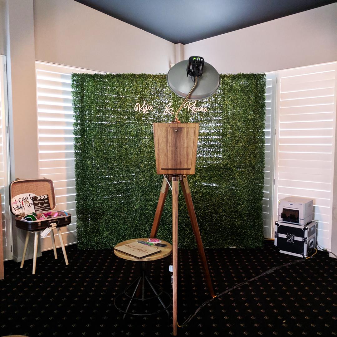 The Lakehouse Sunshine Coast Photo Booth Setup