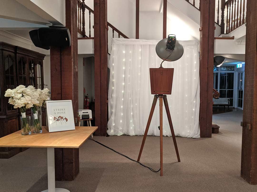 Maleny Manor Photo Booth Setup