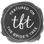 Featured on Bride's Tree