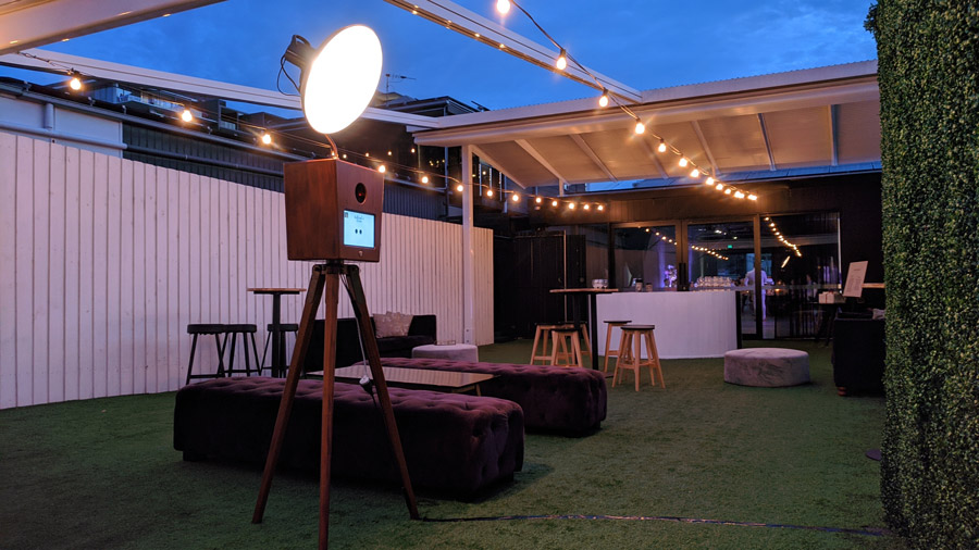 Our Photo Booth at The Refinery Brisbane