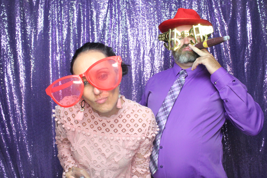 Purple Sequin photo booth Backdrop